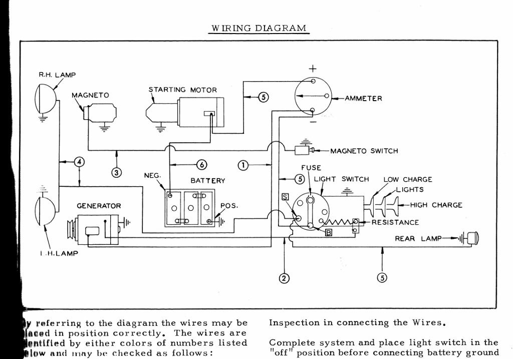 wire diagram wd45 wd wiring - allischalmers forum 7 wire trailer plug wire diagram