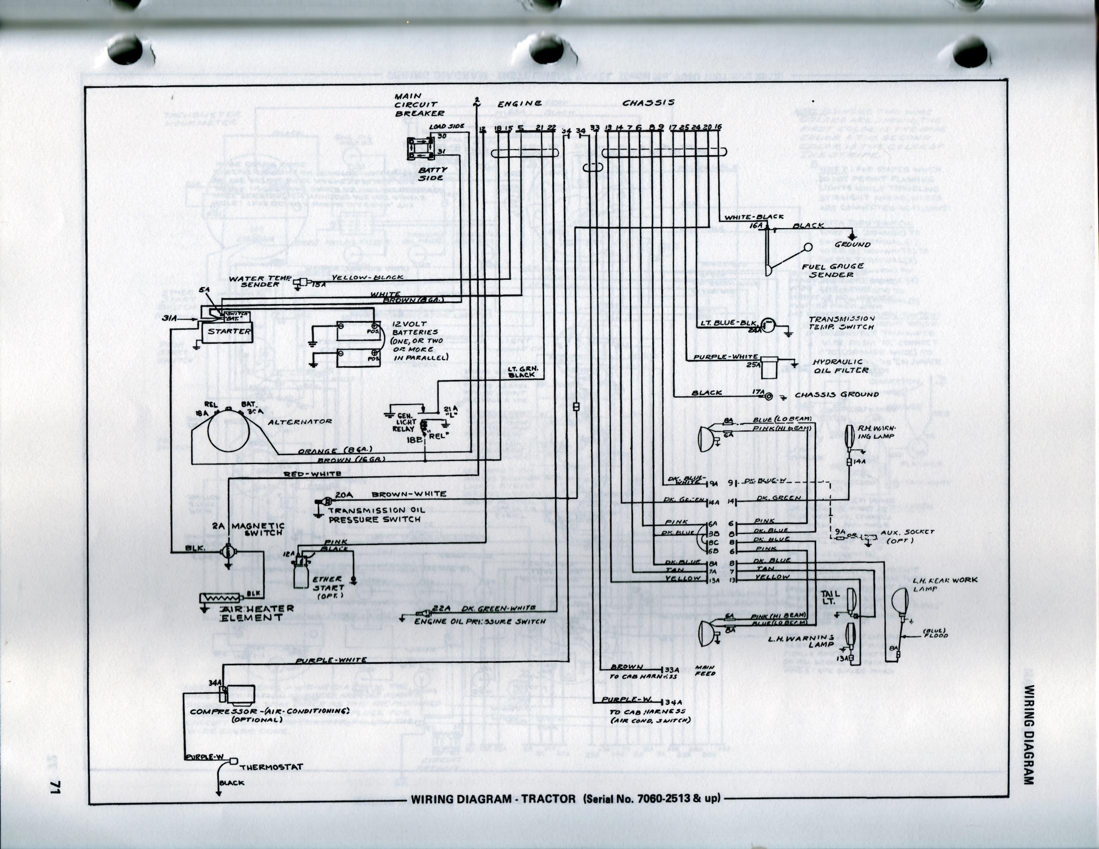 allis chalmers wc wiring diagram allis chalmers d15 wiring