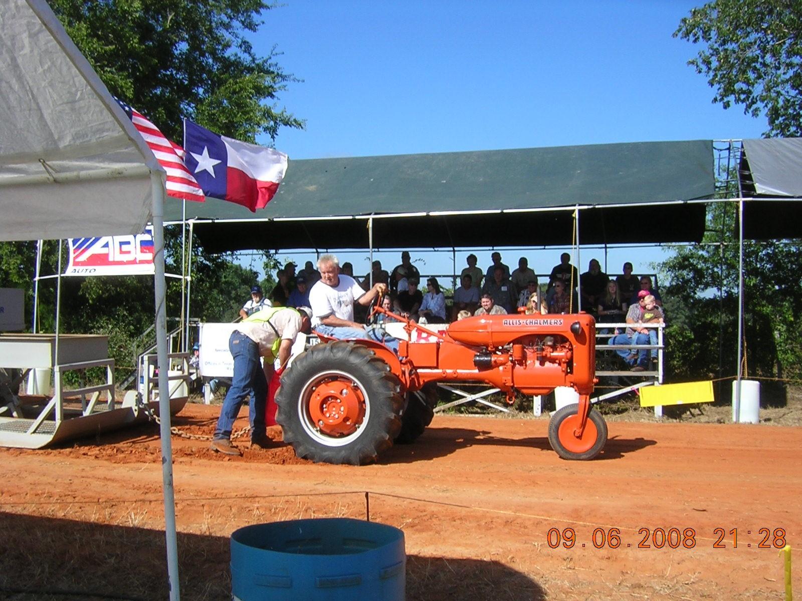 Tractor Wheel Bolt Patterns : Ac ca tractor rear wheel bolt pattern allischalmers forum