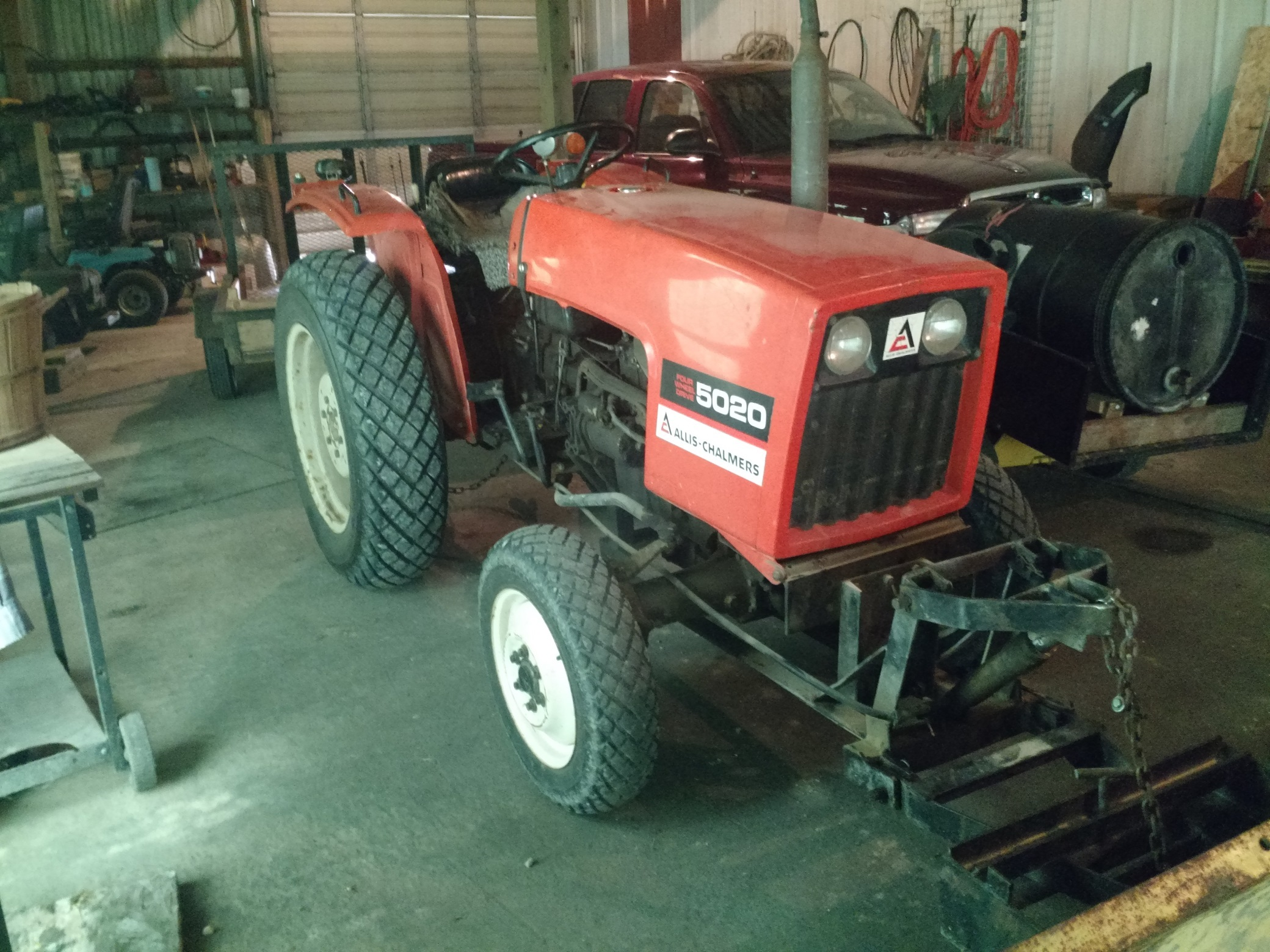 5020 with serial number 1 AllisChalmers Forum
