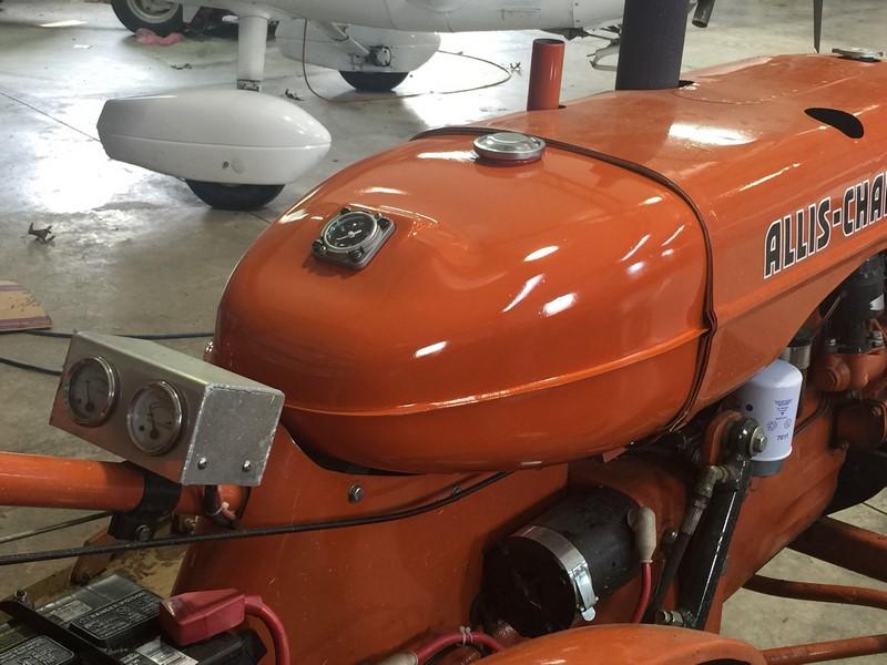 Allis Chalmers B Fuel Tank : Fuel gauge on my b gas tank allischalmers forum