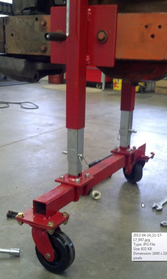Tractor Splitting Stands For Tractors : Show your splitting stands allischalmers forum