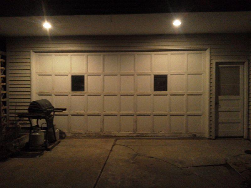 Shop lighting allischalmers forum for Golden rule garage door