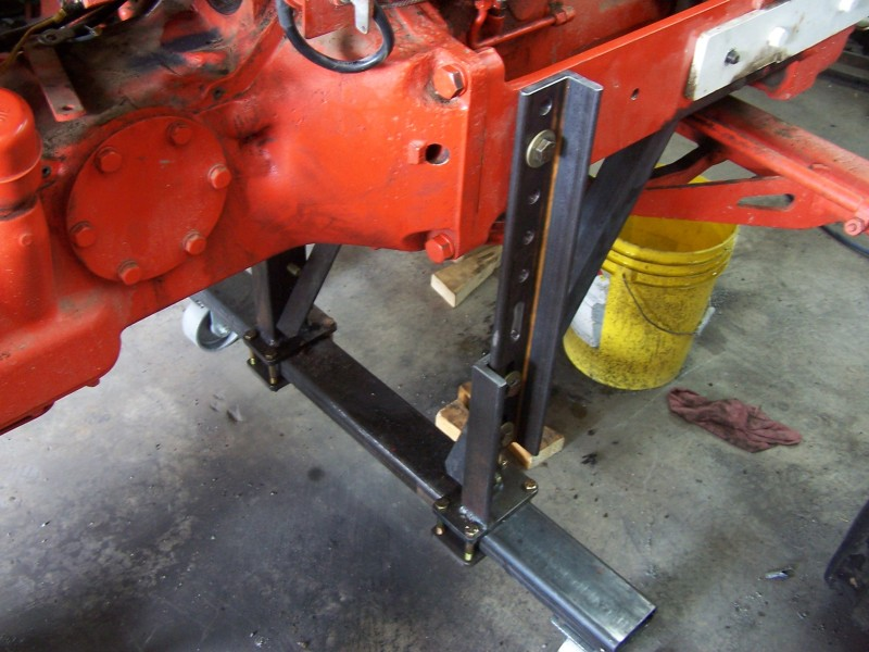 Tractor Splitting Stands For Tractors : Splitting stands allischalmers forum