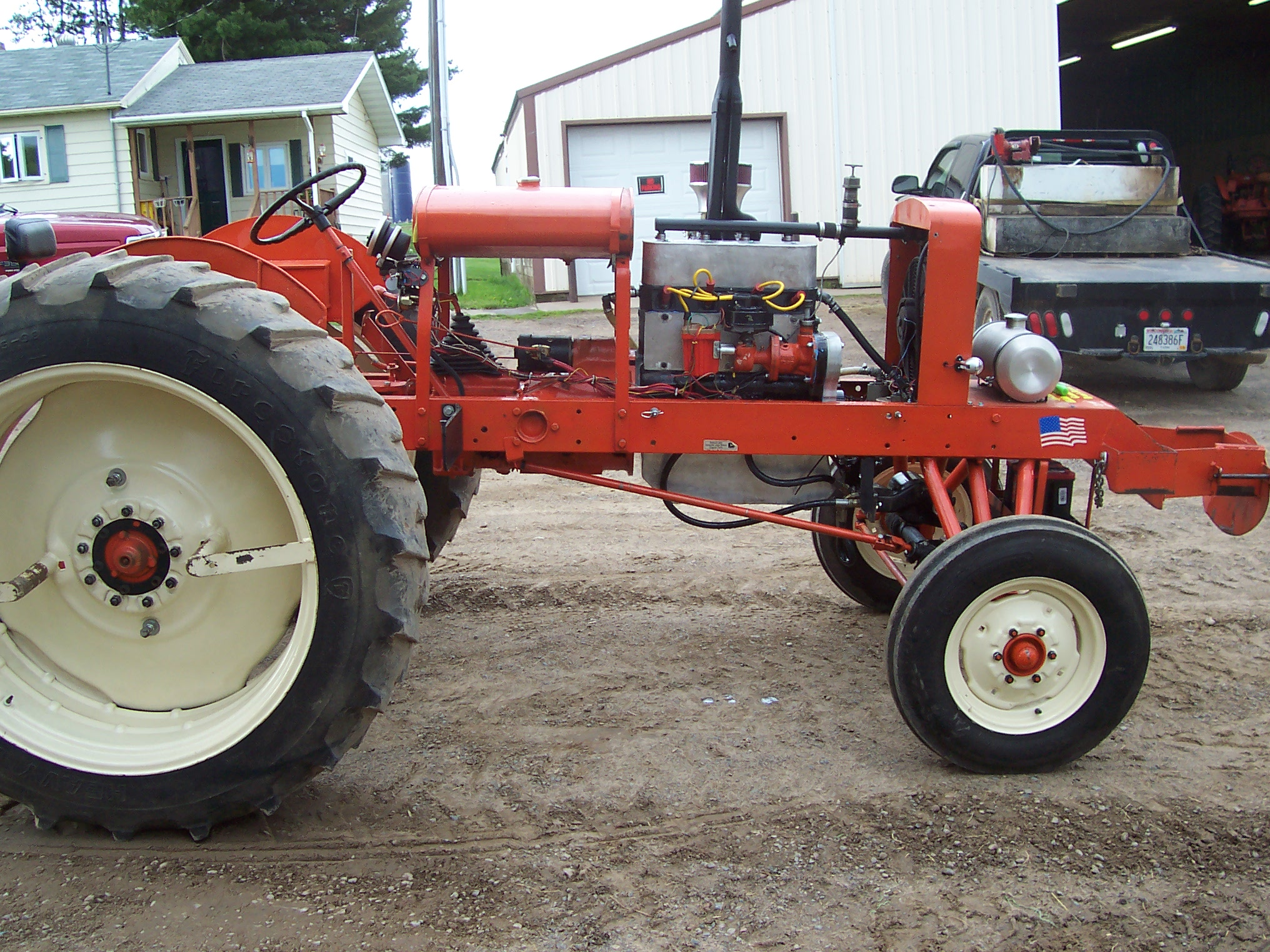 Tractor Pull Parts : Farmall bn parts puller tractor engine and