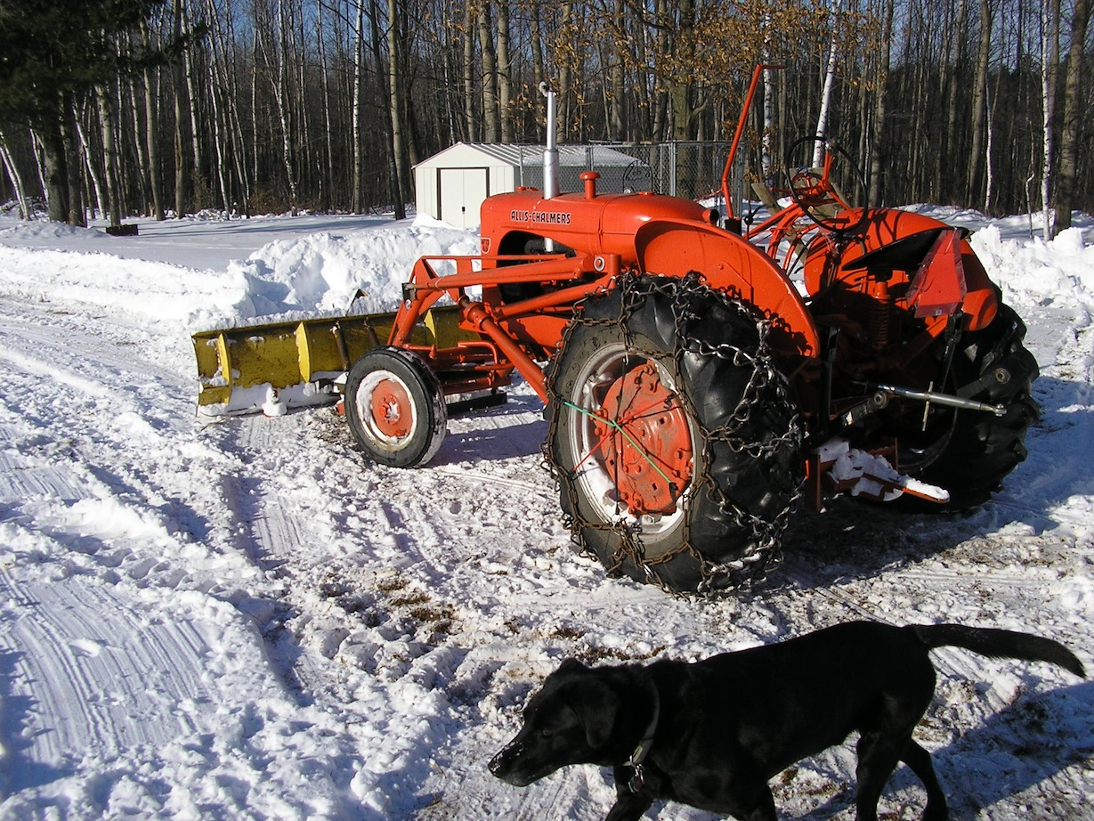pics of snow rigs allischalmers forum page 1 unfortunately i no longer have my dog tater put him to sleep this past
