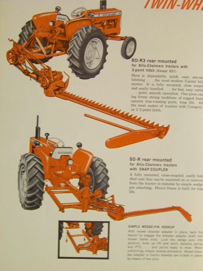 Allis 80 T or R Sickle Mower - AllisChalmers Forum