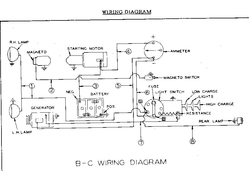electrical problem with c - allischalmers forum,Wiring diagram,Wiring Diagram For 1947 C Allis Chalmers