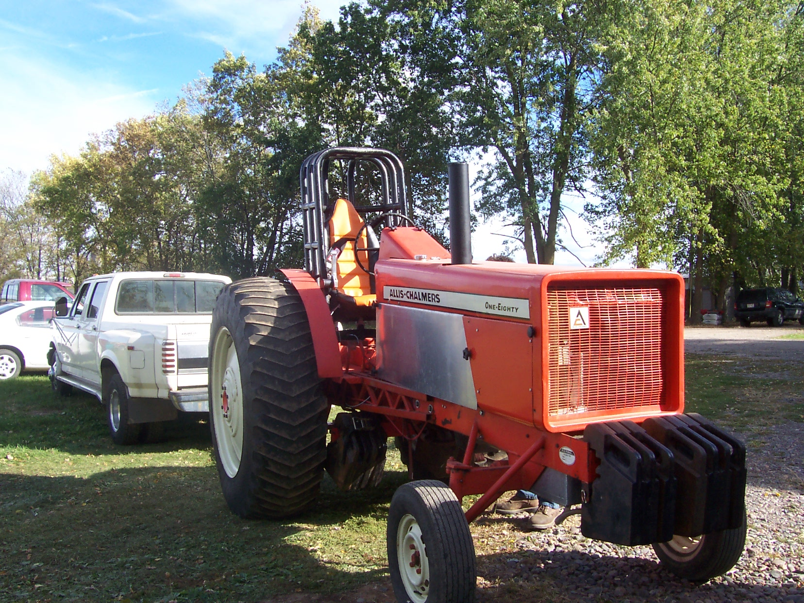 Allis Chalmers 190xt Pulling Tractor