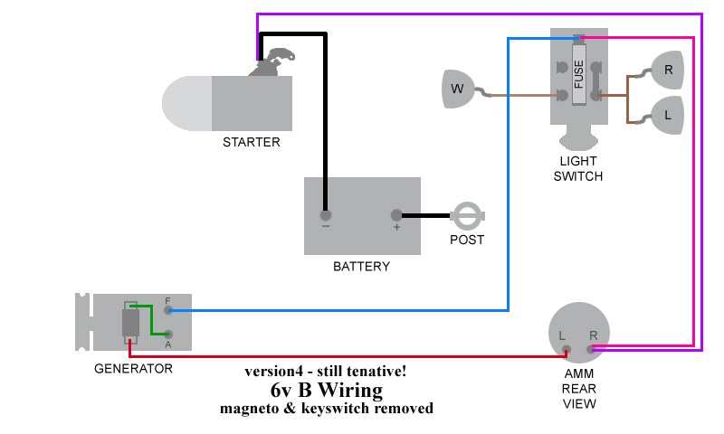Bwiring6j b wiring revisited allischalmers forum Basic Electrical Wiring Diagrams at bayanpartner.co
