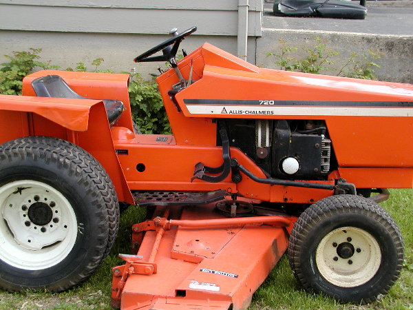 Allis Chalmers Garden Tractors : For sale in illinois allischalmers forum
