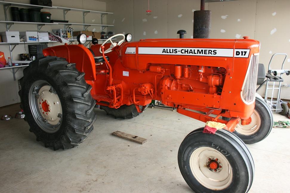allis chalmers wd45 engine swap