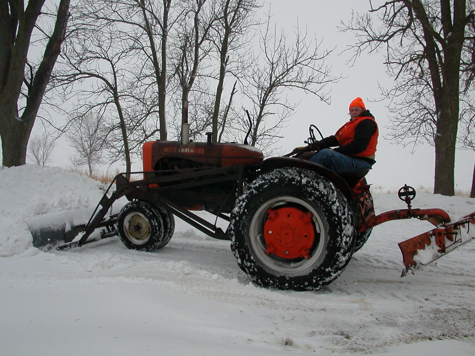 Homemade Snow Plow For Tractor Bucket Homemade Ftempo