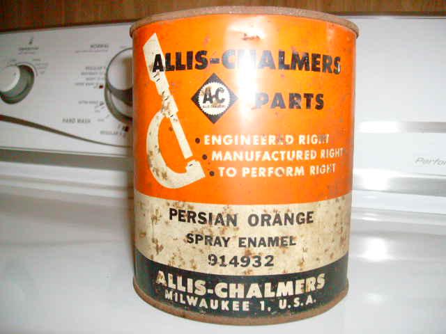 Allis Chalmers Paint Code