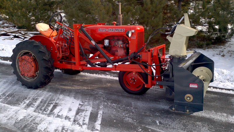 how to build a truck mounted snow blower