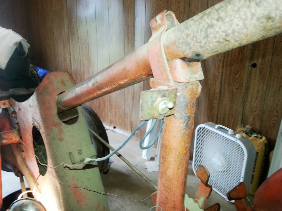 b wiring allischalmers forum as you can see one of the wires loops back on itself and is attached to the switch mount which i m assuming is part of the grounding circuit for the