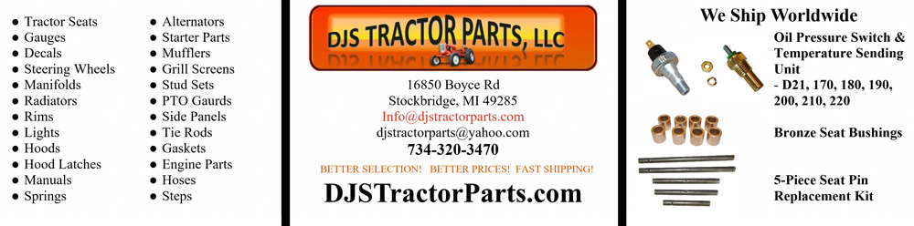 Allis-Chalmers Parts and Supplies