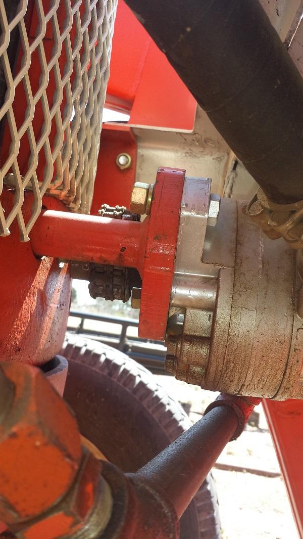 d14 front mounted hydro pump install - AllisChalmers Forum