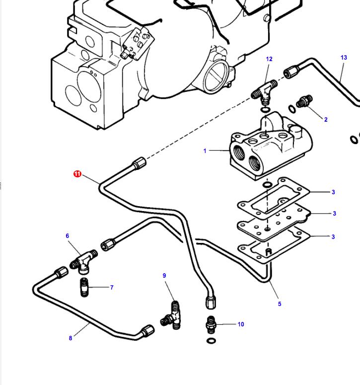 ac 7010 leaking hydraulic circuit line allischalmers forum Allis Chalmers Transmission Diagram edited by slowzuki 24 jul 2018 at 11 01am