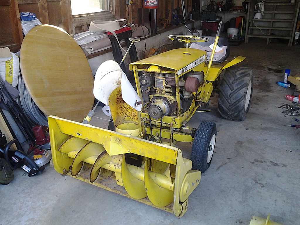 For Sale  1963 Allis Chalmers B10 And Accesories
