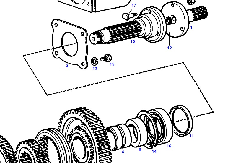 How to replace leaking PTO seal? - AllisChalmers Forum