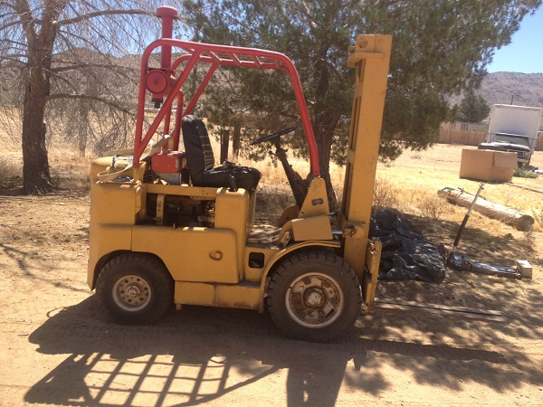 RARE FORKLIFT NEED HELP AU-1420 - AllisChalmers Forum