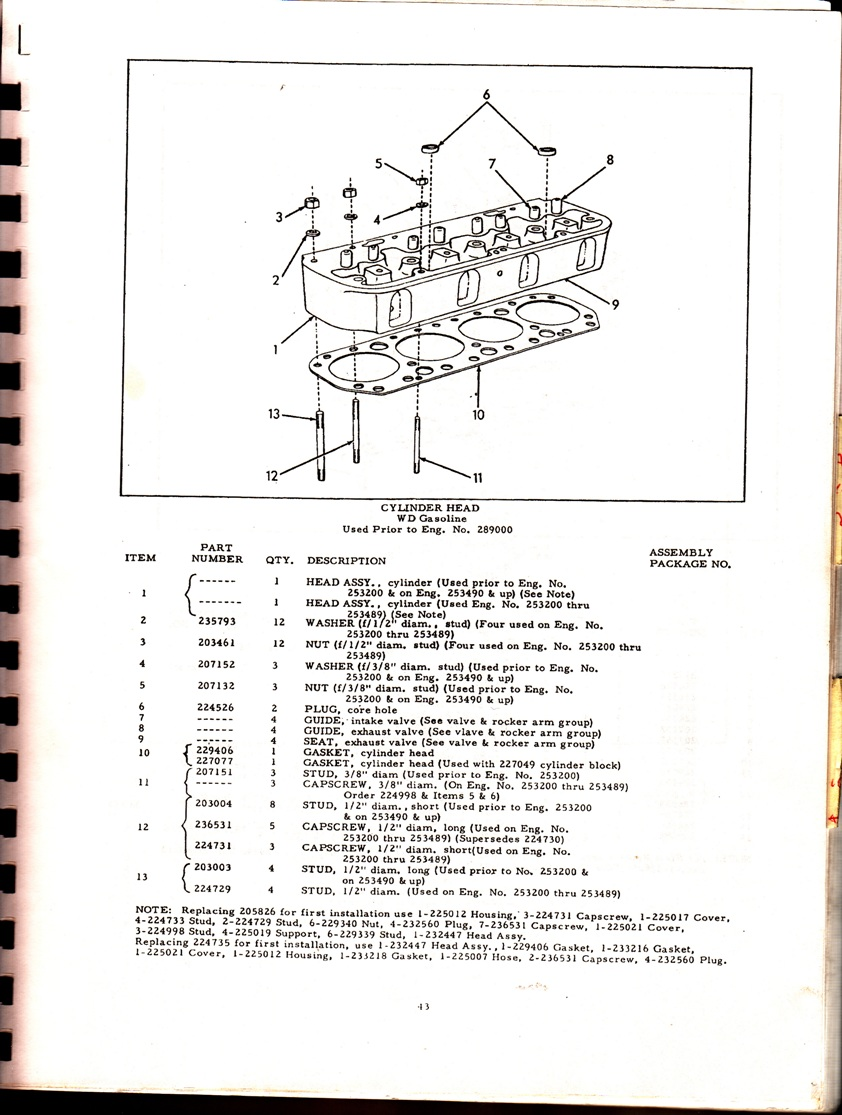 diagram time to get it running - coolant leak - allischalmers forum allis  chalmers wd firing order