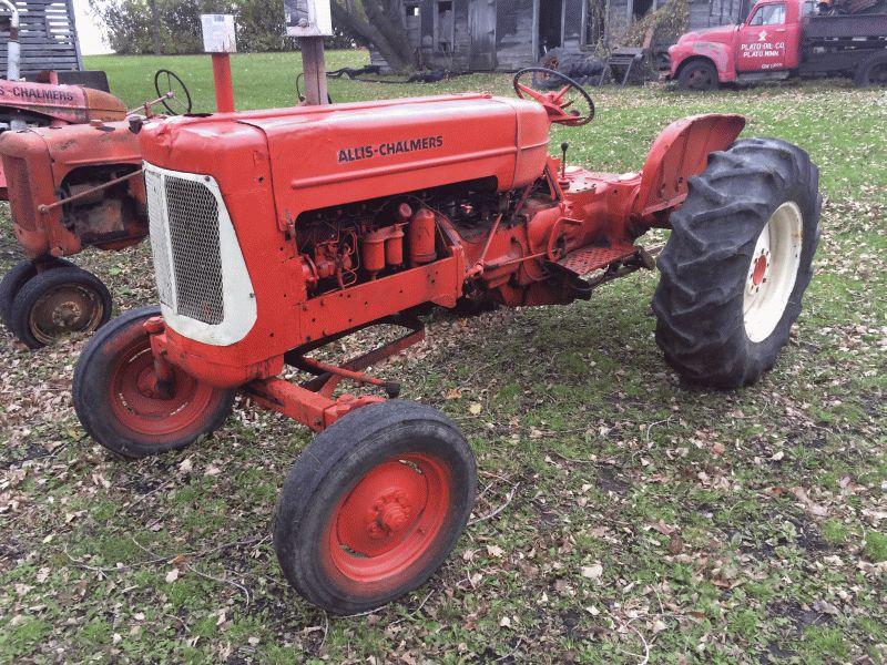 For sale: D17 diesel project tractor - AllisChalmers Forum