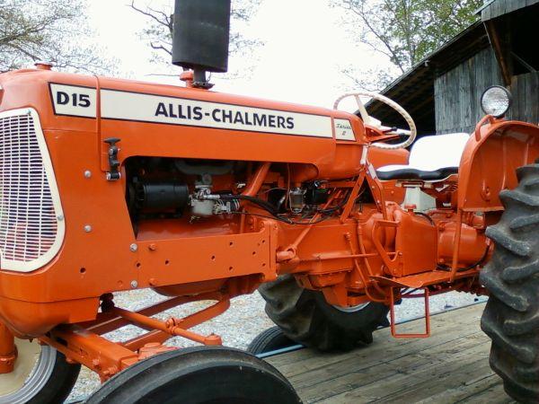 Allis chalmers D15 manual