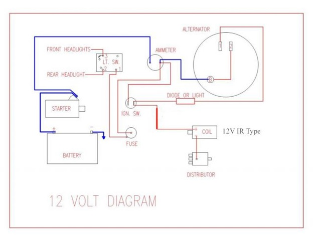 Farmall Wiring Diagram